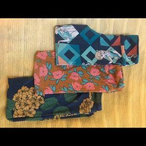 S/M LuLaRoe 3pack leggings